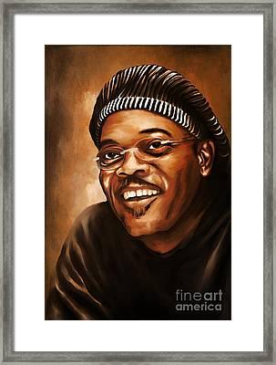 Samuel. Framed Print