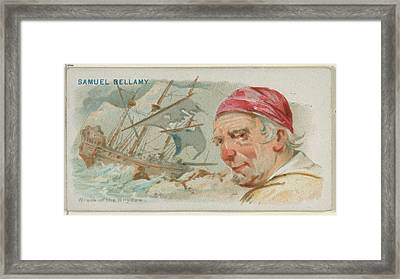 Samuel Bellamy, Wreck Of The Whydah Framed Print