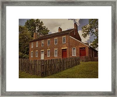 Samuel Doak House Framed Print by Mel Hensley