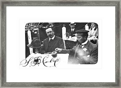 Samuel Franklin Cody Framed Print by Universal History Archive/uig