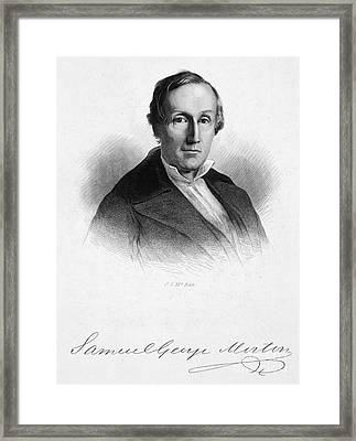 Samuel George Morton Framed Print by Granger
