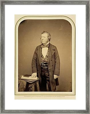 Samuel Lover Esq Framed Print by British Library