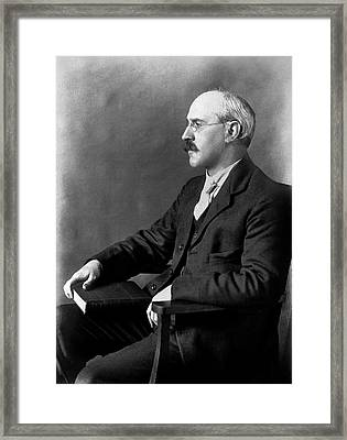 Samuel Milner Framed Print by American Philosophical Society