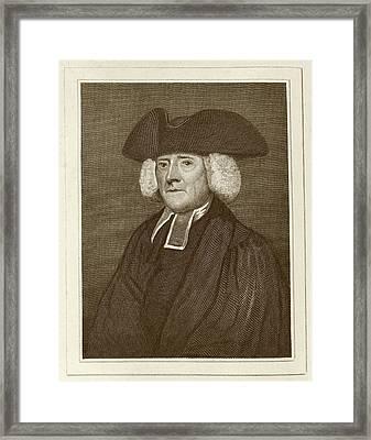 Samuel Pegge Framed Print