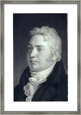 Samuel Taylor Coleridge Framed Print by British Library
