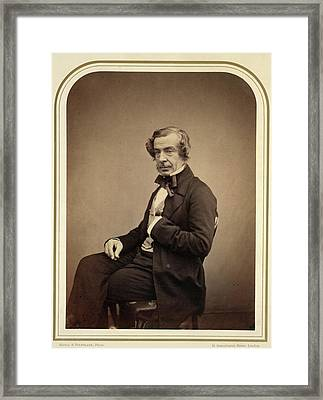 Samuel Warren Framed Print by British Library
