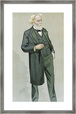 Samuel Wilks, British Physician Framed Print
