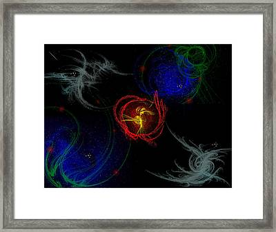 Samuels Energy Framed Print
