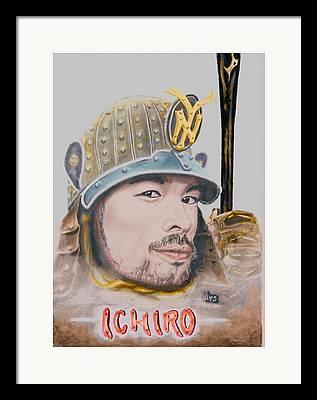 Baseballplayer Framed Prints