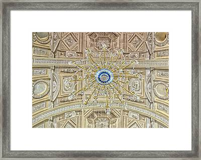 San Agustin Roman Catholic Church Framed Print