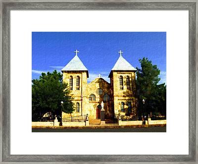 San Albino Church Framed Print