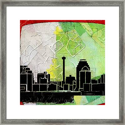 San Antonio 002 B Framed Print