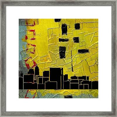 San Antonio 002 C Framed Print by Corporate Art Task Force