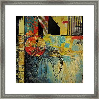 San Antonio 004 A Framed Print by Corporate Art Task Force