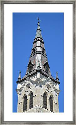 San Antonio Chuch 01 Framed Print by Shawn Marlow