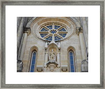 San Antonio Church 03 Framed Print by Shawn Marlow