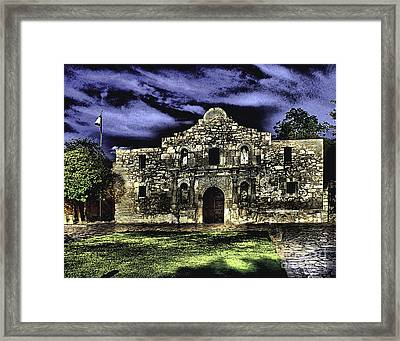 San Antonio E Framed Print