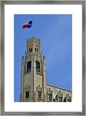 San Antonio Emily Morgan Hotel Framed Print by Christine Till