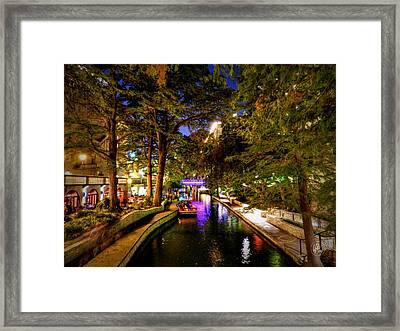 San Antonio Hdr 001 Framed Print by Lance Vaughn