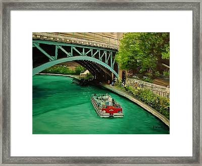 San Antonio Riverwalk Framed Print by Stefon Marc Brown
