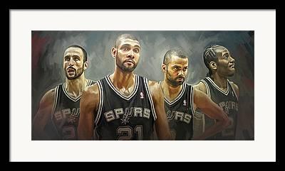 Spurs Framed Prints