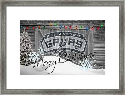 San Antonio Spurs Framed Print