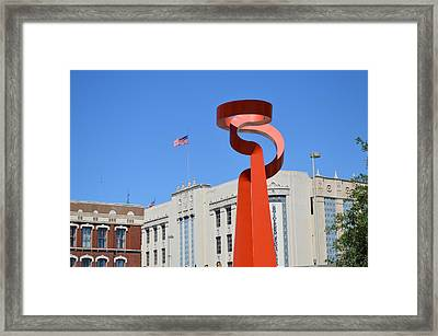 San Antonio Tx Framed Print by Shawn Marlow