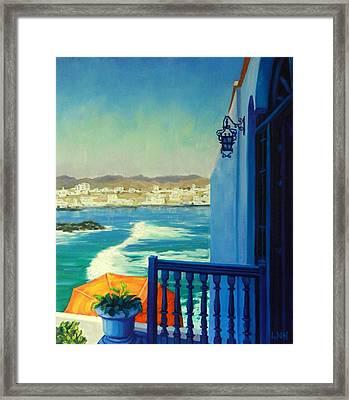 San Bartolo Bay Framed Print