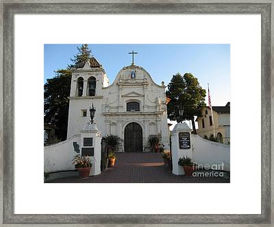 Framed Print featuring the photograph San Carlos Cathedral by James B Toy