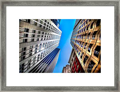 San Central 3 Framed Print by Az Jackson