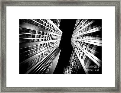 San Central Framed Print by Az Jackson