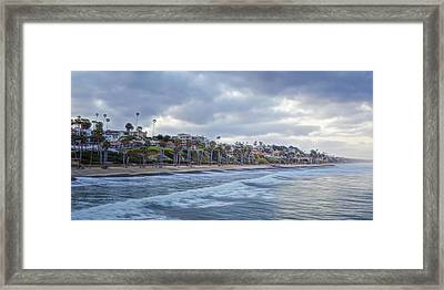 San Clemente Early Morning Framed Print
