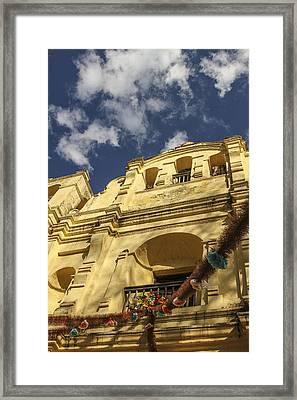 San Cristobal Church Framed Print by Martha Roque
