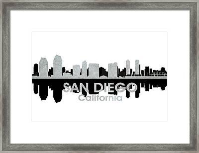 San Diego Ca 4 Framed Print