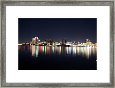 San Diego Ca Framed Print by Gandz Photography