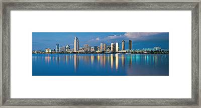 San Diego Ca Framed Print by Panoramic Images