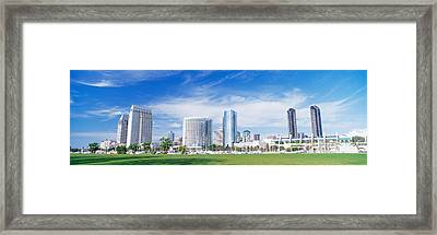 San Diego, California, Usa Framed Print