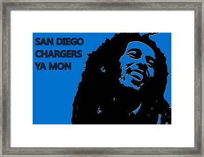 San Diego Chargers Ya Mon Framed Print