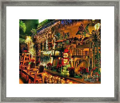 San Diego Christmas Framed Print