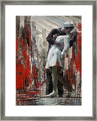 San Diego City Collage Framed Print by Corporate Art Task Force