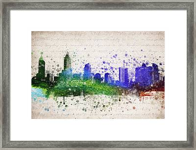 San Diego In Color Framed Print