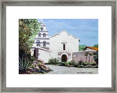 San Diego Mission De Alcala Framed Print