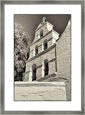 San Diego Mission Framed Print by Jeanne Hoadley