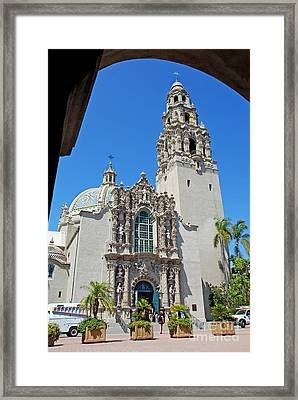 San Diego Museum Of Man Framed Print