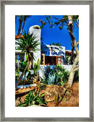 San Diego Old Town Colors 3 Framed Print
