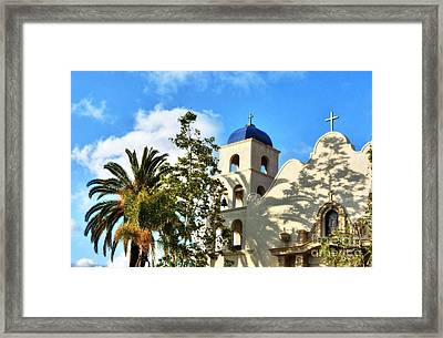 Old Town San Diego Shadows 3 Framed Print