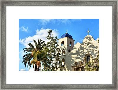 Old Town San Diego Shadows 3 Framed Print