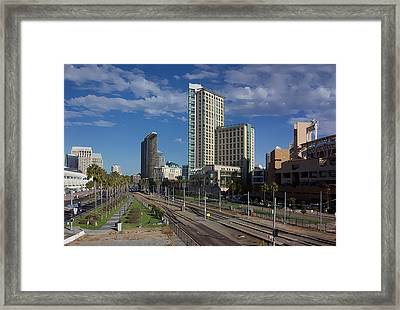 San Diego Framed Print by Photographic Art by Russel Ray Photos