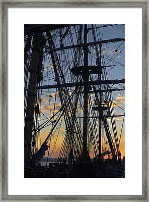 Framed Print featuring the photograph San Diego Sunset by Marianne Campolongo