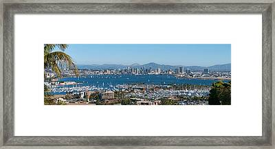 San Diego's Big Bay Framed Print
